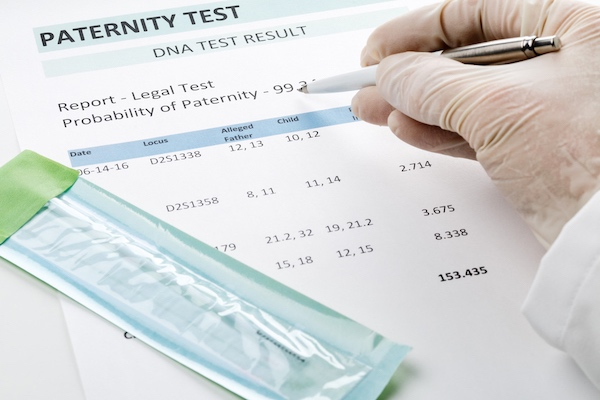 Legal Paternity test process