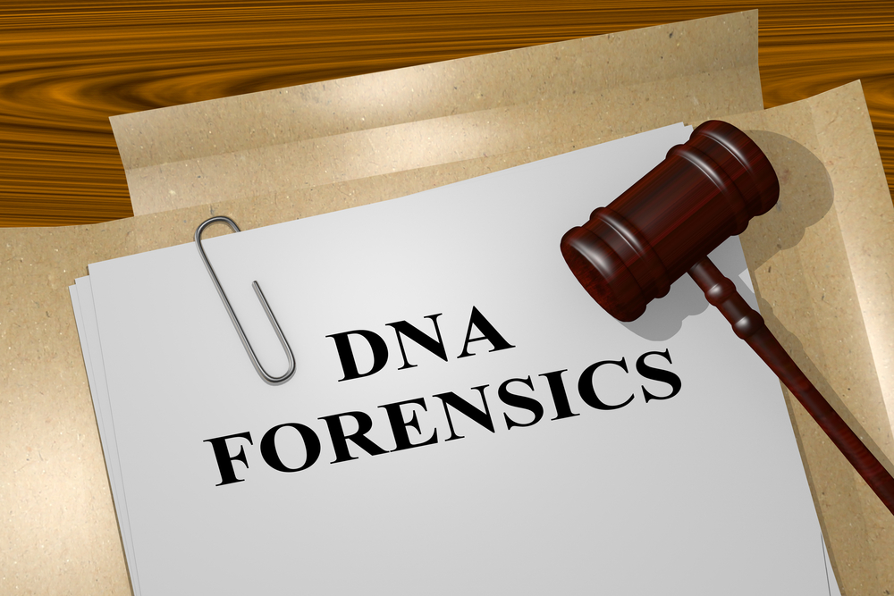 Legal file containing DNA results