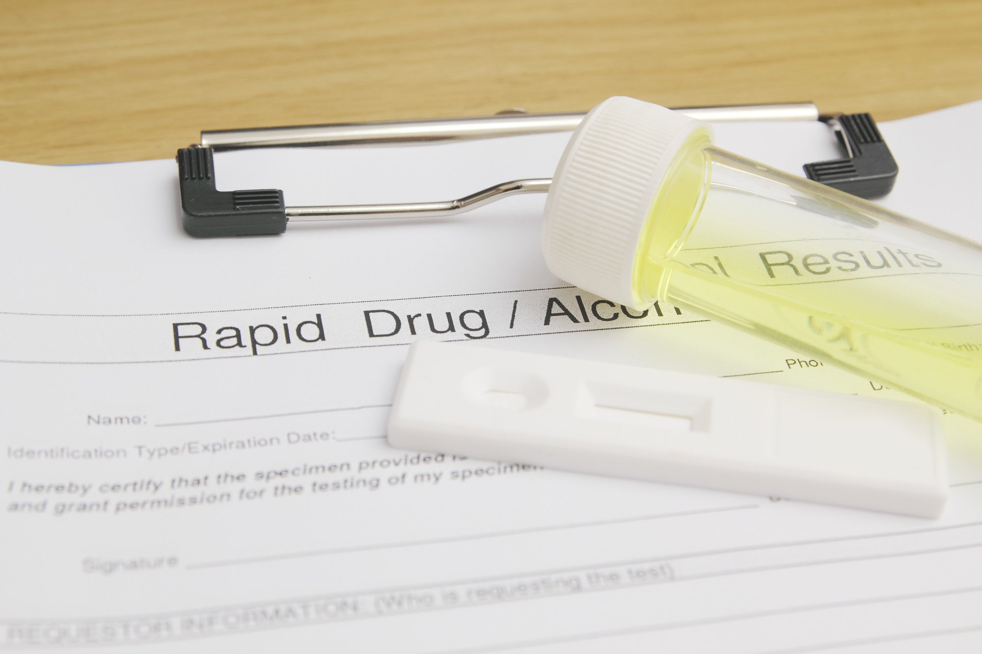 employment drug test laws
