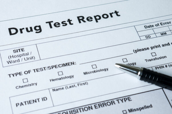 what happens if you fail a drug test on probation